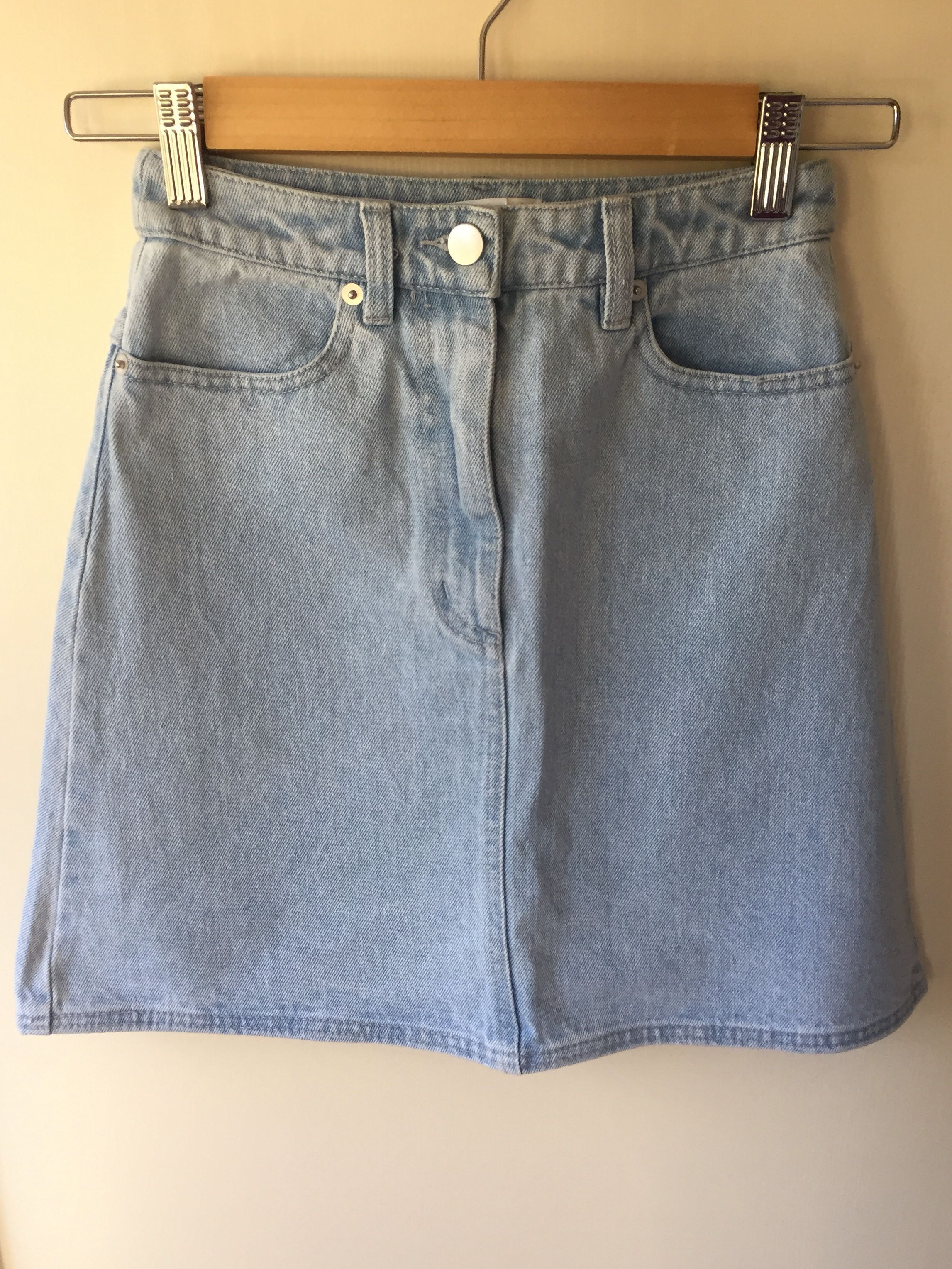 BNWT Kookai Denim Skirt Size 1 0fd40f479