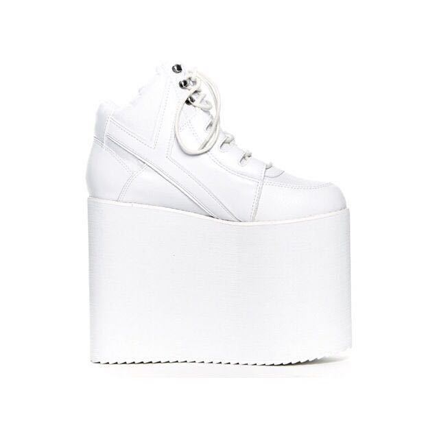 e8c7bf299fe Brand New Y.R.U Qozmo Sky Hi White (Price reduced)