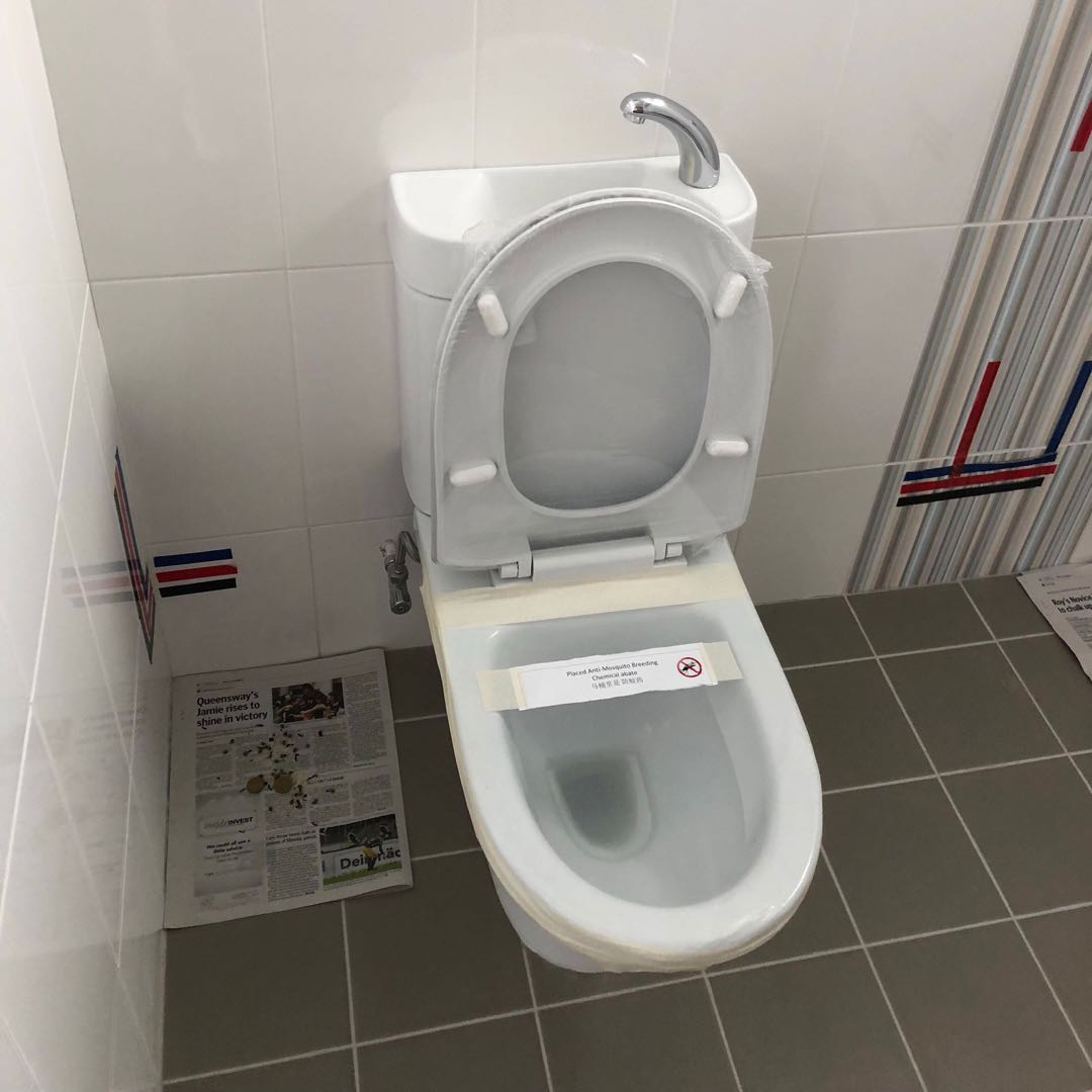 Bto Toilet Bowl-WC treo brand, Home Appliances, Cleaning & Laundry ...
