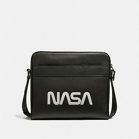 51c4093b77 CHARLES CAMERA BAG WITH SPACE MOTIF COACH F28319