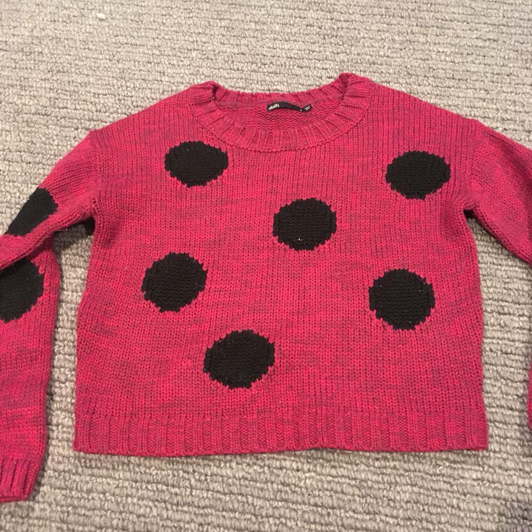 Dotti spotty knit