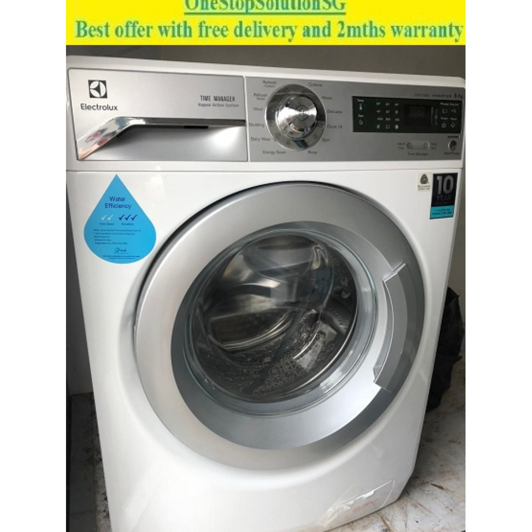Electrolux (8.0kg) washing machine / washer ($320 + Free Delivery + 2mths