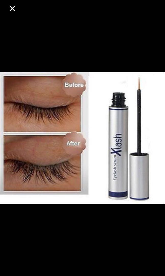 39d5b5f2b11 Eyelash serum XLASH beautiful pretty lady, Health & Beauty, Makeup ...