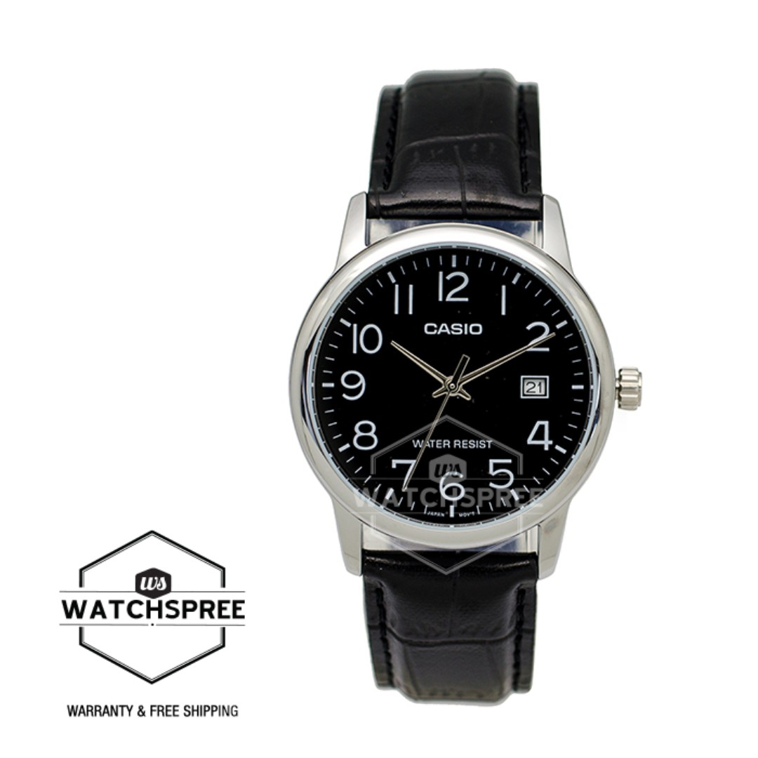 Free Delivery Casio Genuine Mtpv002l 1b 100 Authentic With 1 Men Watch Mtp V002l 1a Black Home Mens Fashion Watches Photo