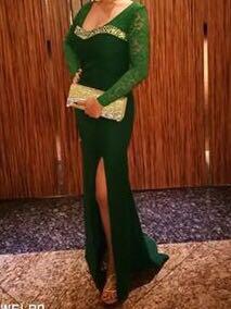 Green Elegant Gown