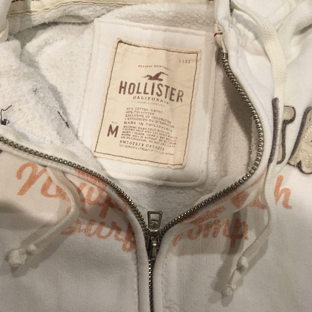 Hollister zip up hoddie
