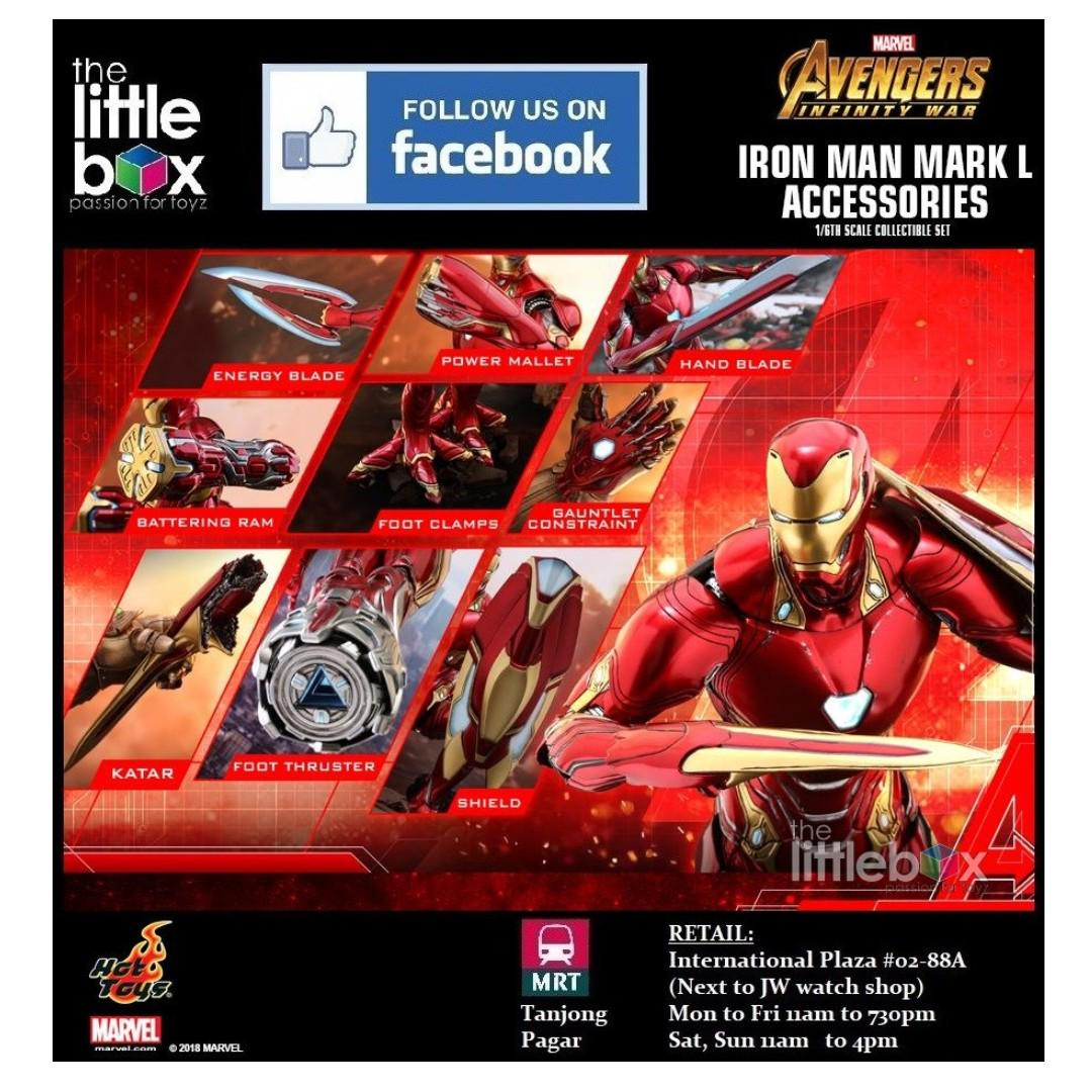 NO IRON MAN] Hot Toys 1/6 Scale ACS004 Avengers: Infinity