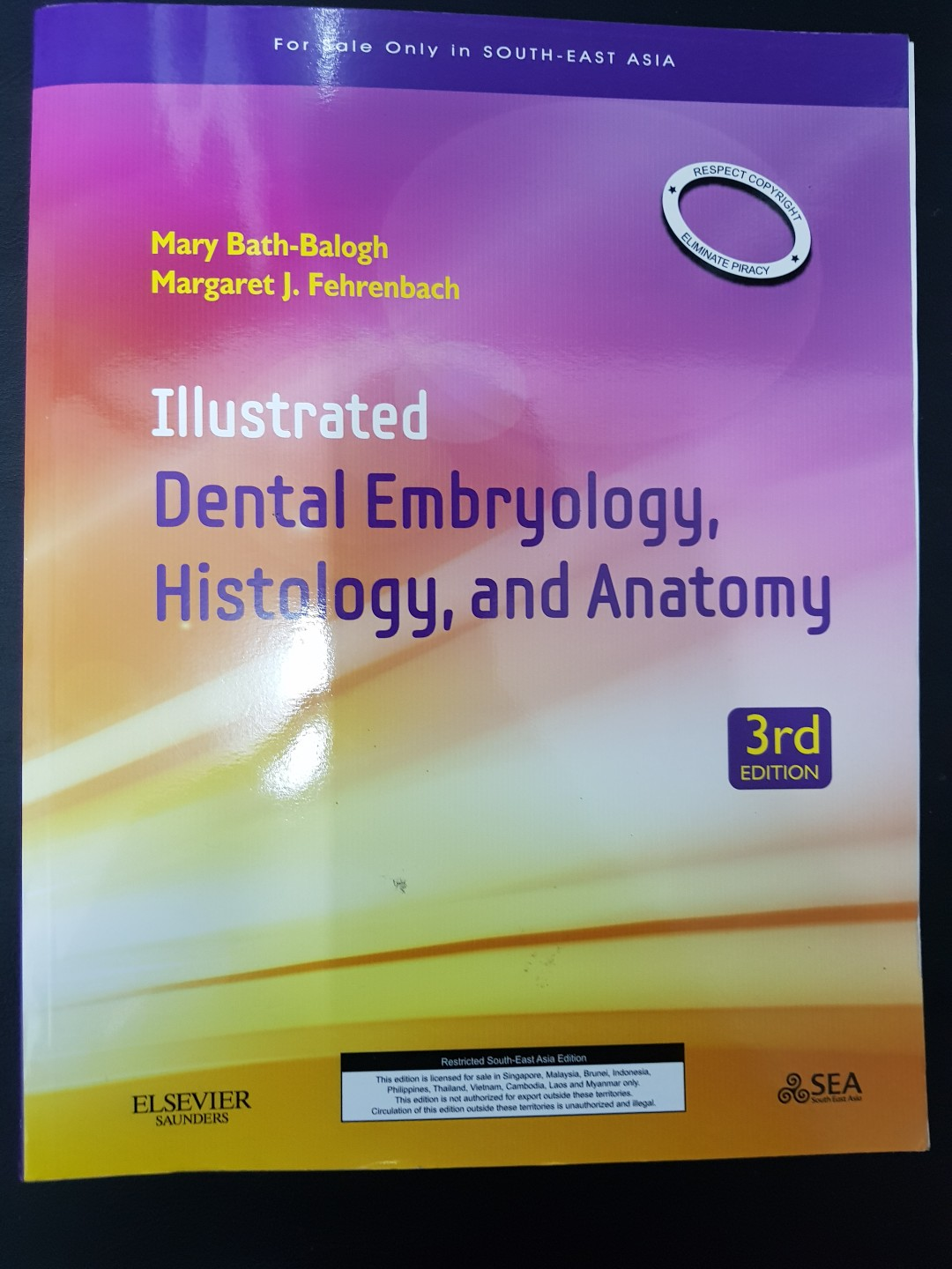 Illustrated Dental Embryology , Histology and Anatomy, Textbooks on ...