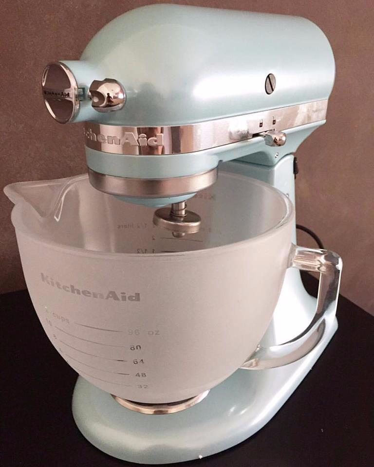 Remarkable Kitchenaid Stand Mixer Azure Blue Kitchen Appliances On Home Remodeling Inspirations Cosmcuboardxyz