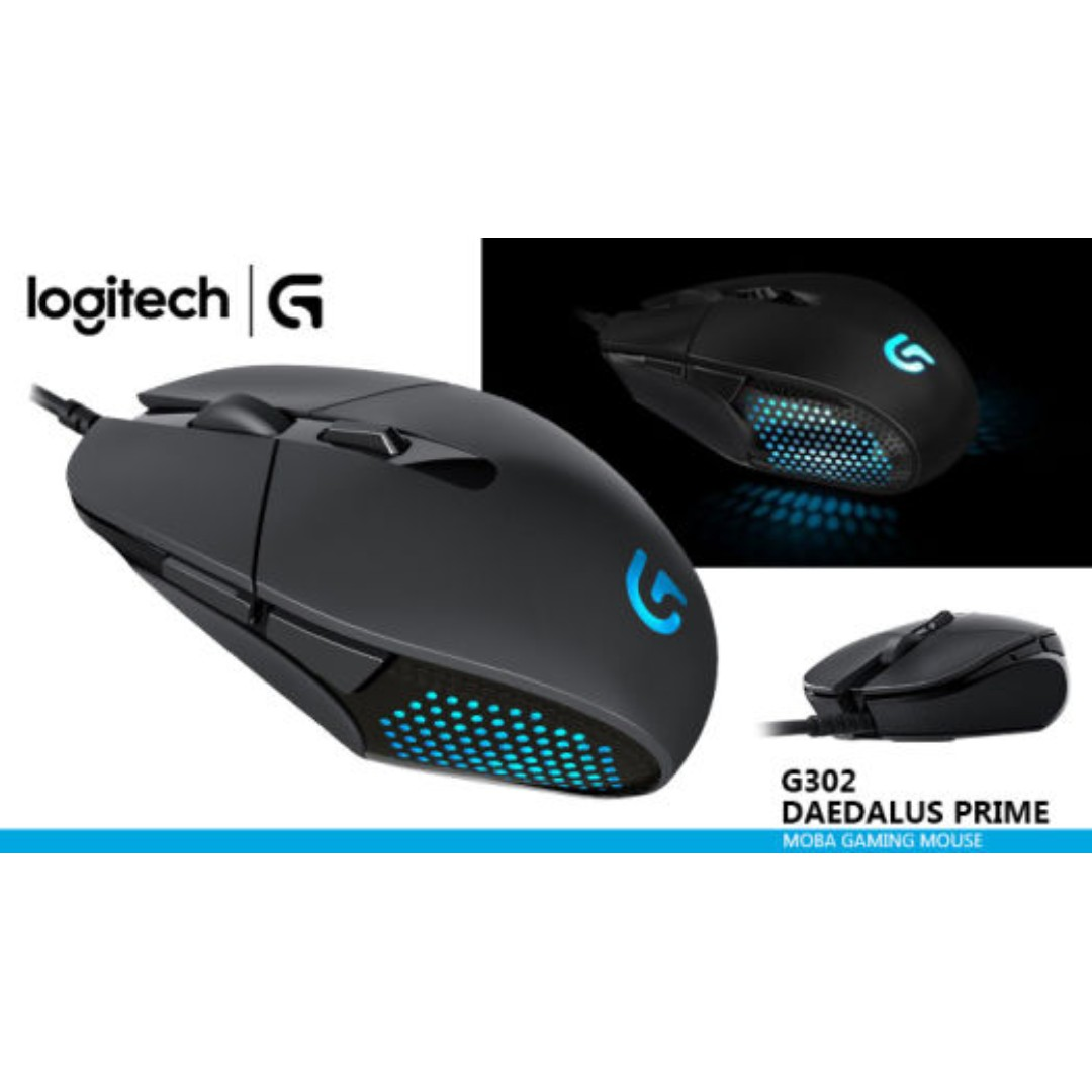 63311bdc7f4 Logitech Daedalus Prime G302-MOBA-Gaming Mouse, Electronics, Others ...