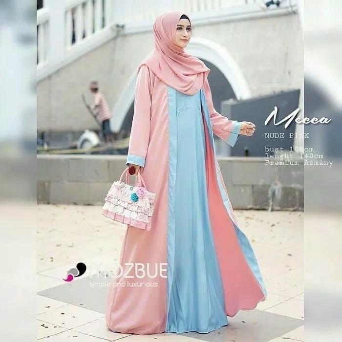 Long Dress Murah Mecca L Atasan Fashion Baju Muslim Arab Gamis Arabian Wanita Olshop Fashion Olshop Muslim Di Carousell
