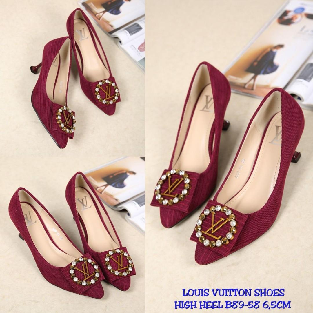 92de7f1dca8b LV High Heel Shoes B89-58