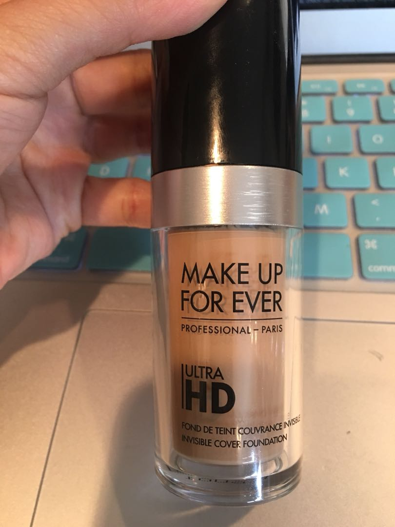 Makeup forever ultra HD invisible cover foundation