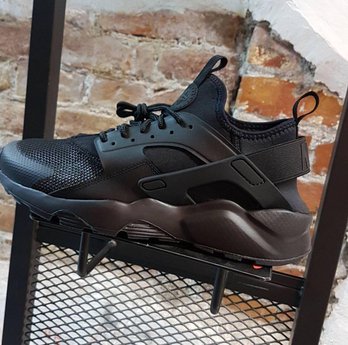sports shoes e1b92 8ad30 Men's Nike Air Huarache Ultra|TRIPLE BLACK, Men's Fashion ...