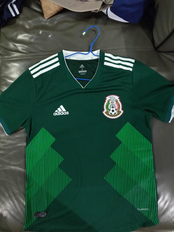4f75e2fdcb246 Mexico 2018 World Cup Jersey Adizero Version Size S