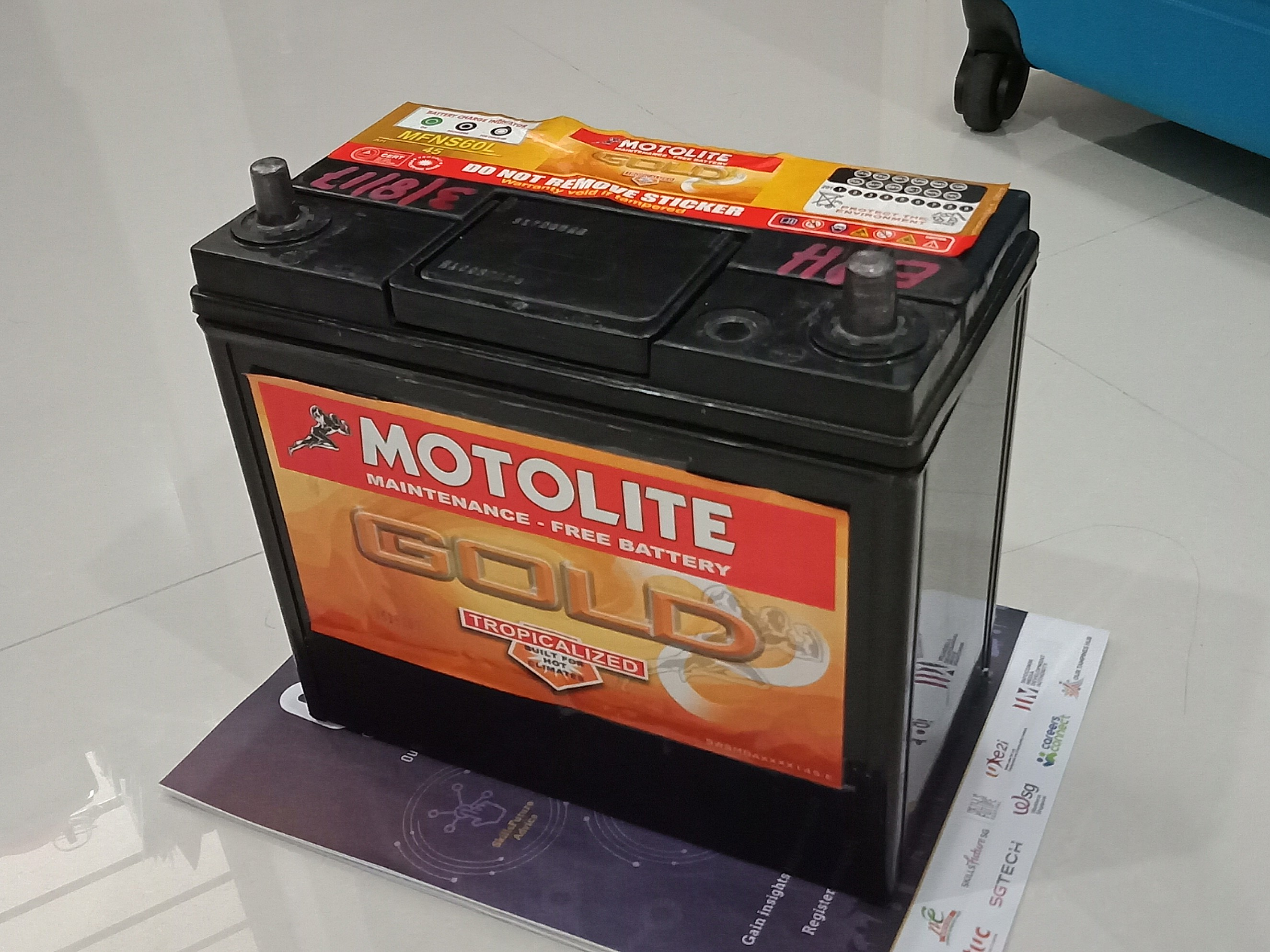 Motolite Car Battery 45ah Maintenance Free Car Accessories