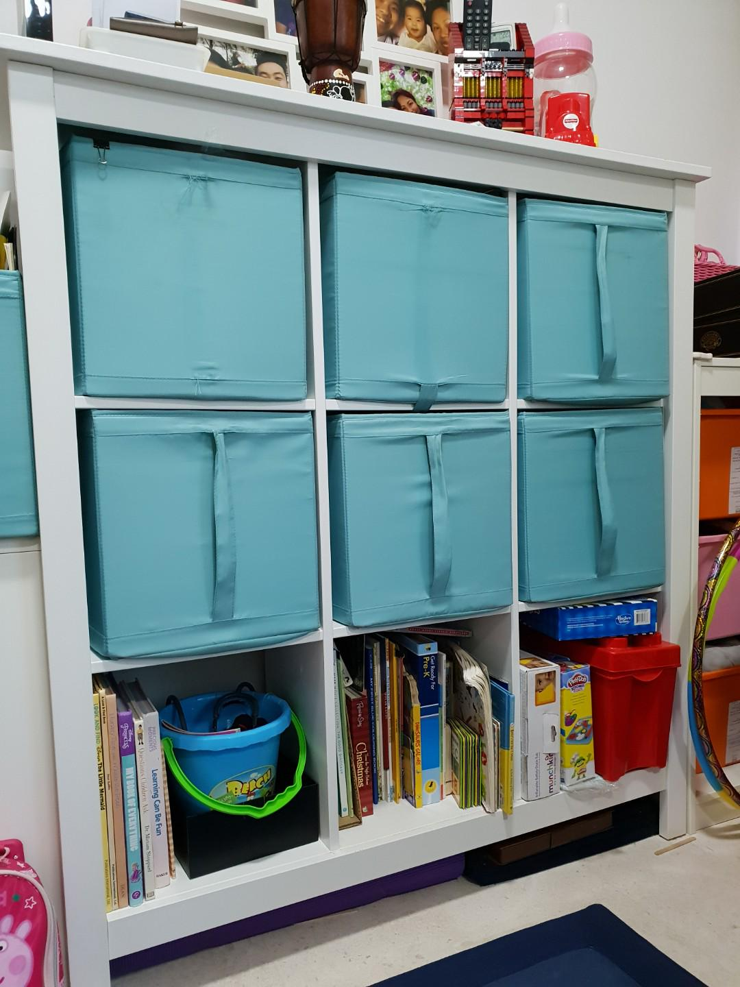 online store c6221 beb1b Moving out Sale) IKEA Tomnas Shelving Unit 3x3 8months old ...