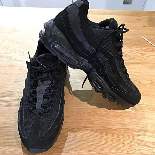 Nike Airmax 95 - All Black Reflective - US 11