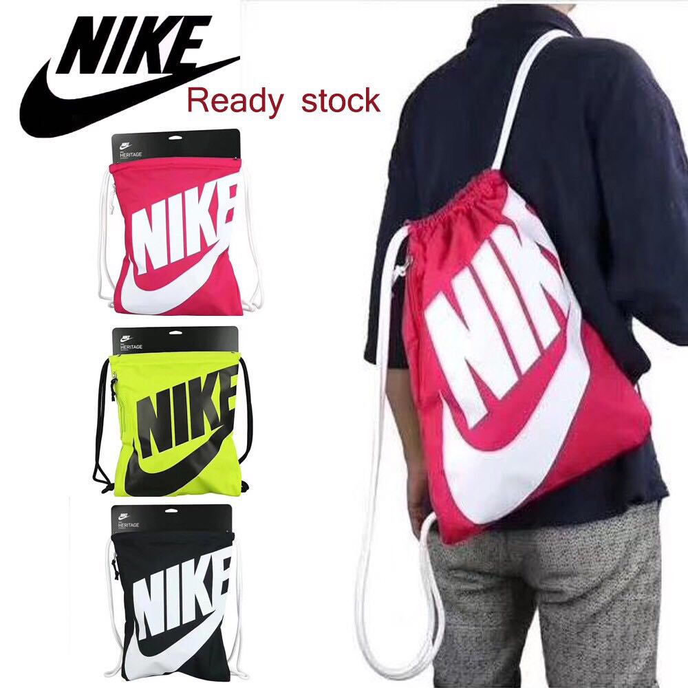 NIKE Heritage Draw string bag 584fe0a2224fe