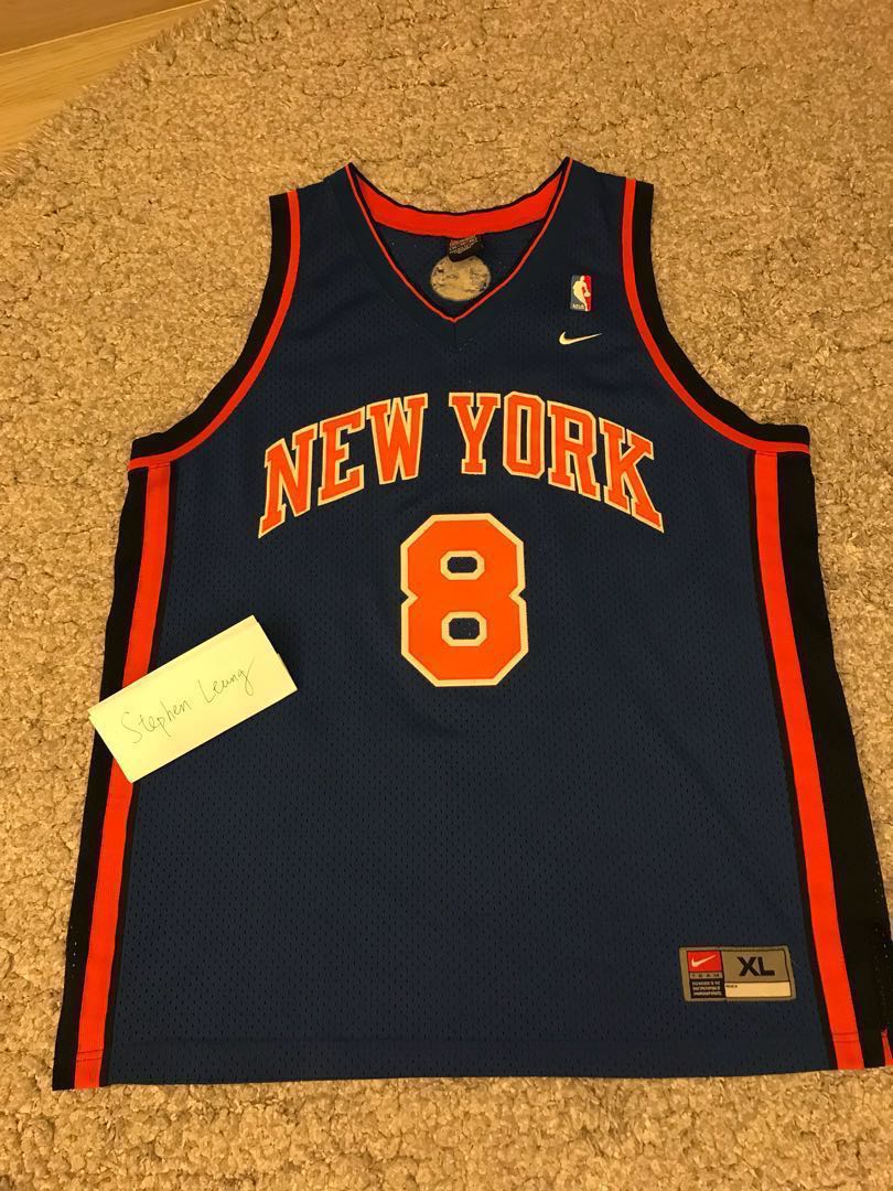 detailed look 20dcb 8ccaf Nike swingman jersey New York Knicks Sprewell NBA