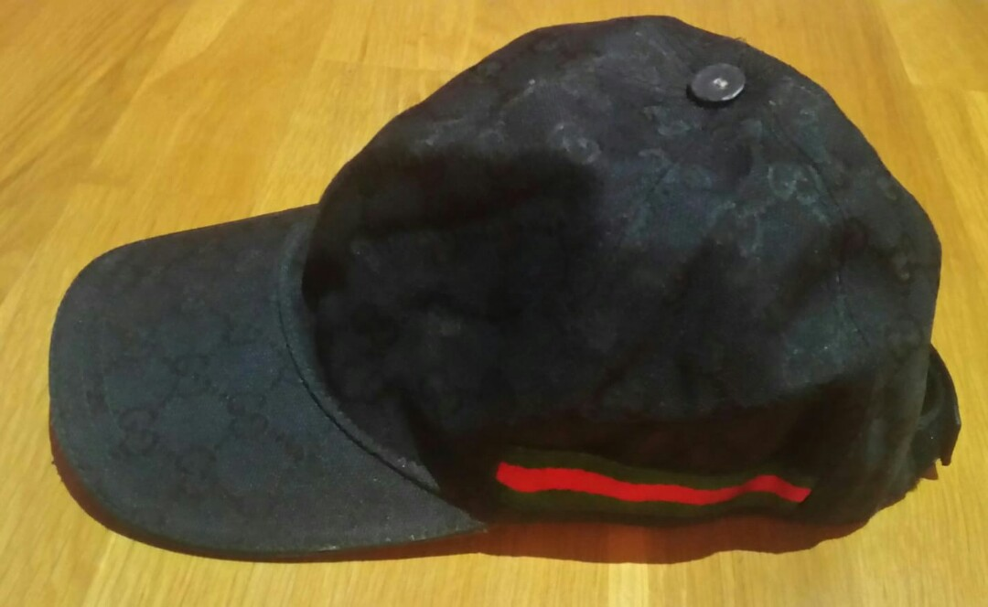 1bf93adbb1c23 🔥 CHEAP CHEAP - ORIGINAL AUTHENTIC GUCCI CLASSIC BASEBALL CAP ...