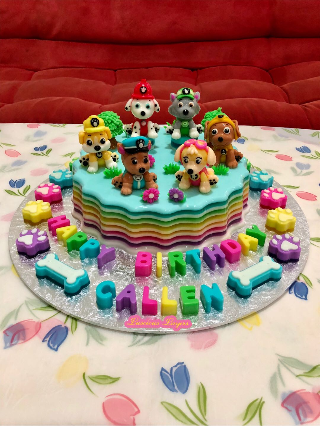 Paw Patrol Jelly Cake Food Drinks Instant On Carousell