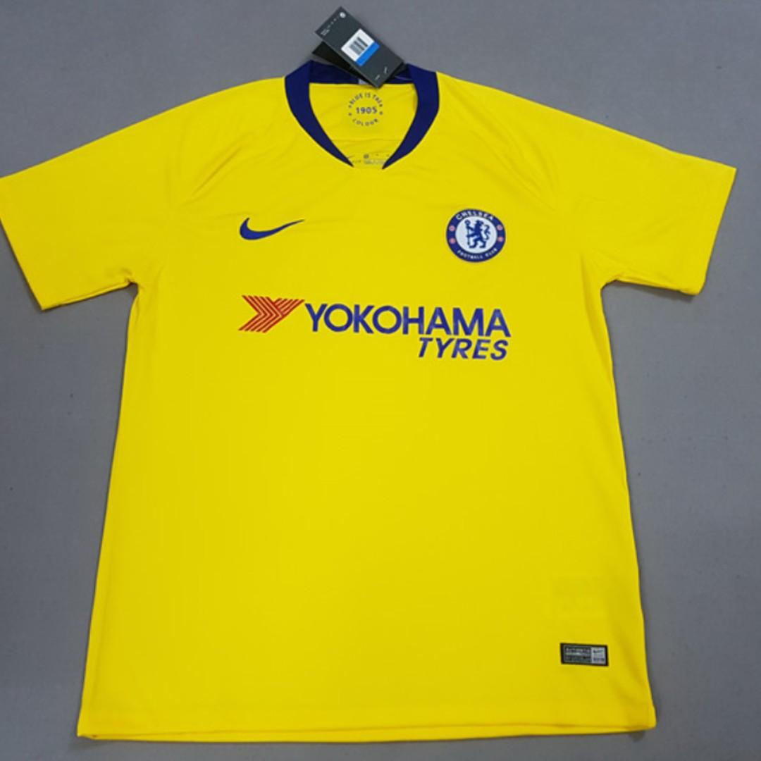 c992fd507b5 Chelsea Kit 18 19 Away – Verein Bild Idee