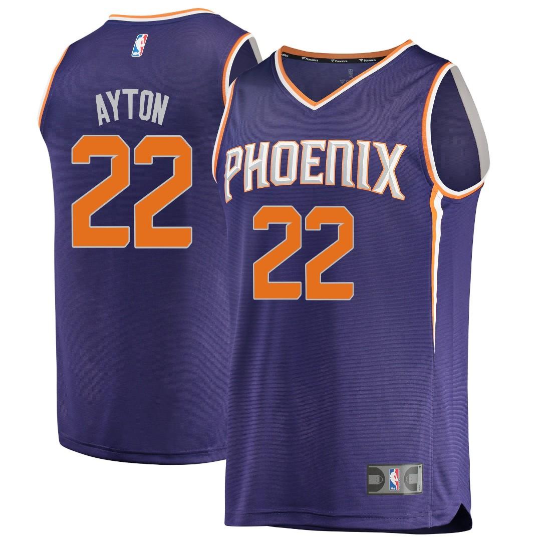 12ba029fe PO) Deandre Ayton  22 Phoenix Suns jersey