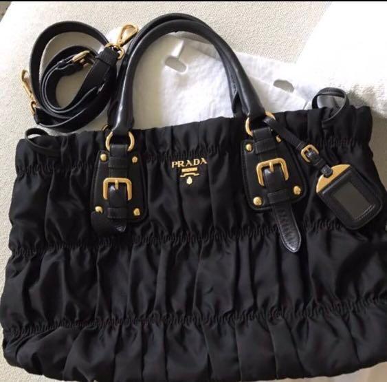 541226fc6da9 PRADA BAG TESSUTO 1788 - FIT A4 [AUTHENTIC], Luxury, Bags & Wallets ...