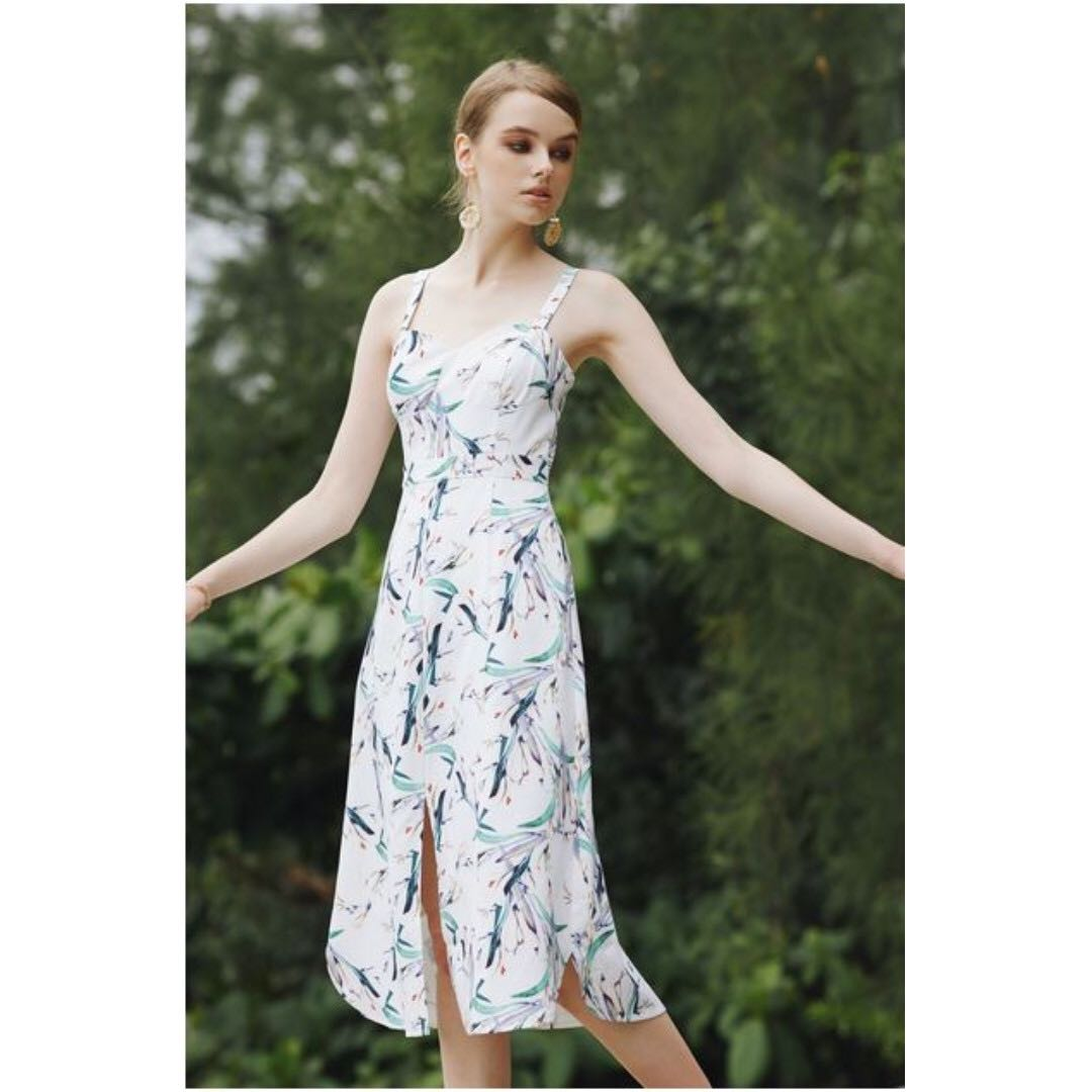 57d1638a4b2 Preloved Intoxiquette Cicely printed dress in floral- XS, Women's ...