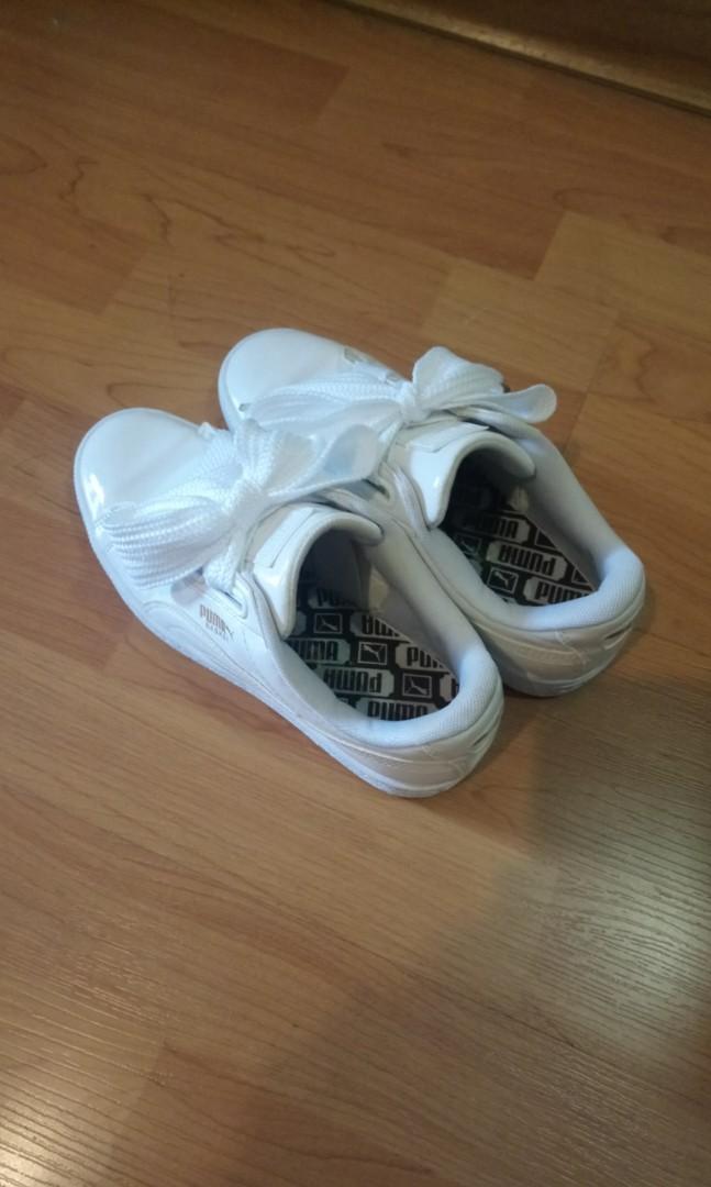 d2cfc2d0a08 Puma Basket Suede Heart Shoes
