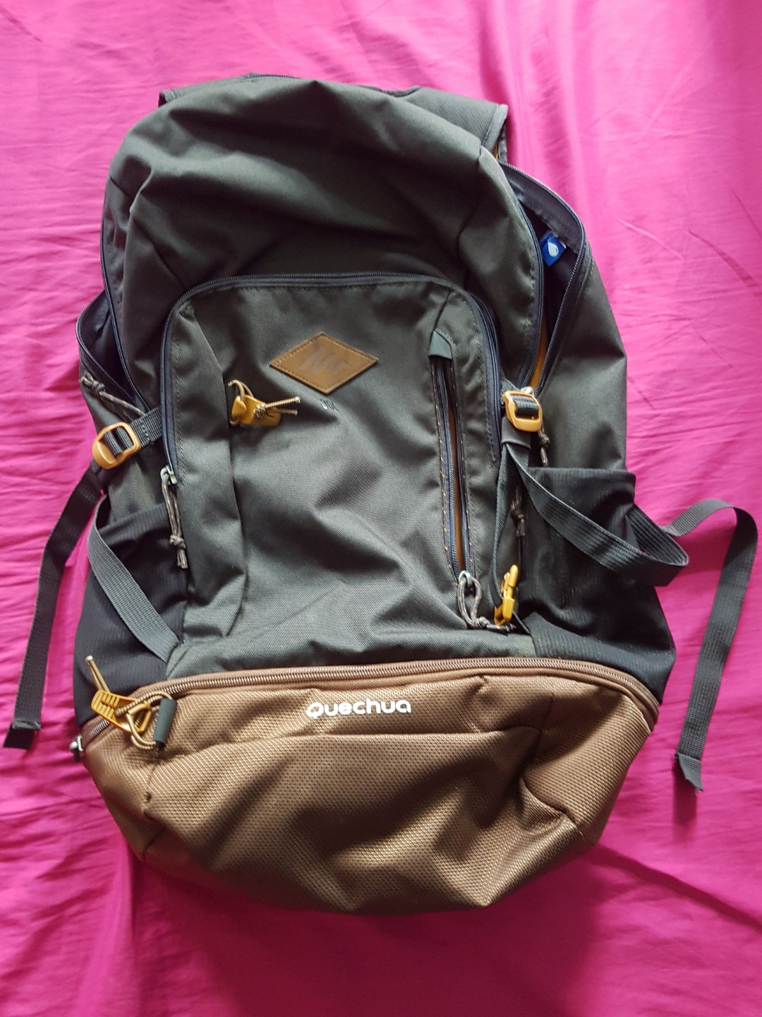 e5a1ce6440 Quechua Escape 30 Backpack (Black)