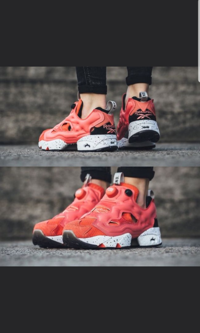 d6e216f6 Reebok instapump fury pink salmon End X, Men's Fashion, Footwear, Sneakers  on Carousell