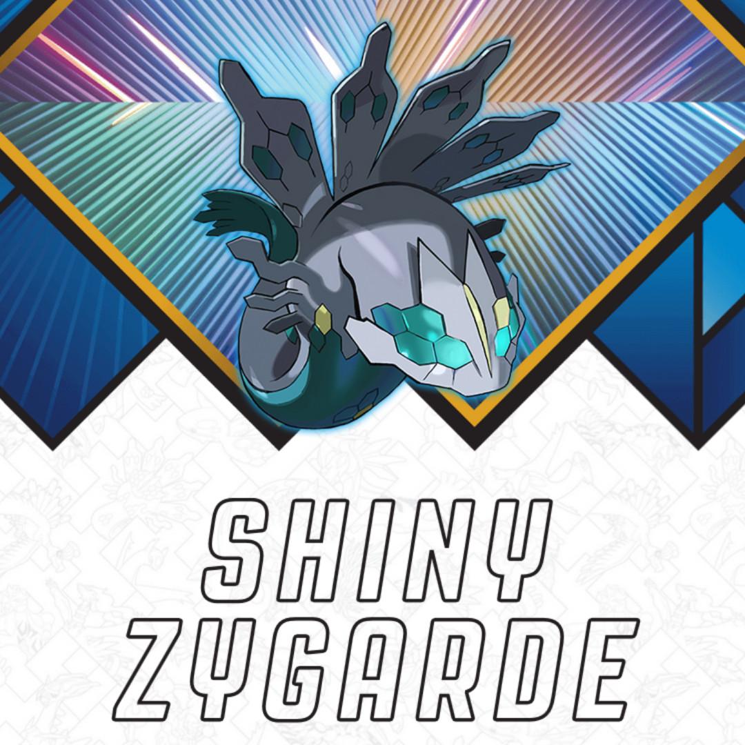 Shiny Zygarde codes for NA/SEA Pokemon Sun/Moon/Ultra Sun