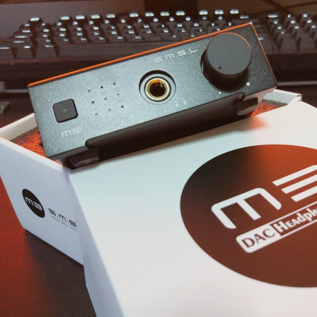 S M S L M3 DAC + Headphone Amp Combo (Black)