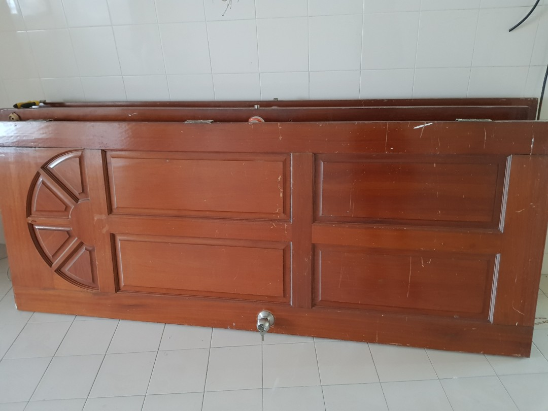 Sold Wood Doors Furniture Others On Carousell