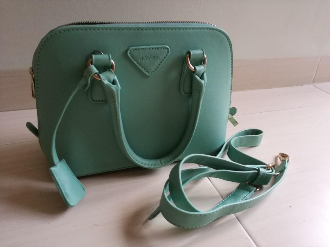 Tiffany Green Handbag