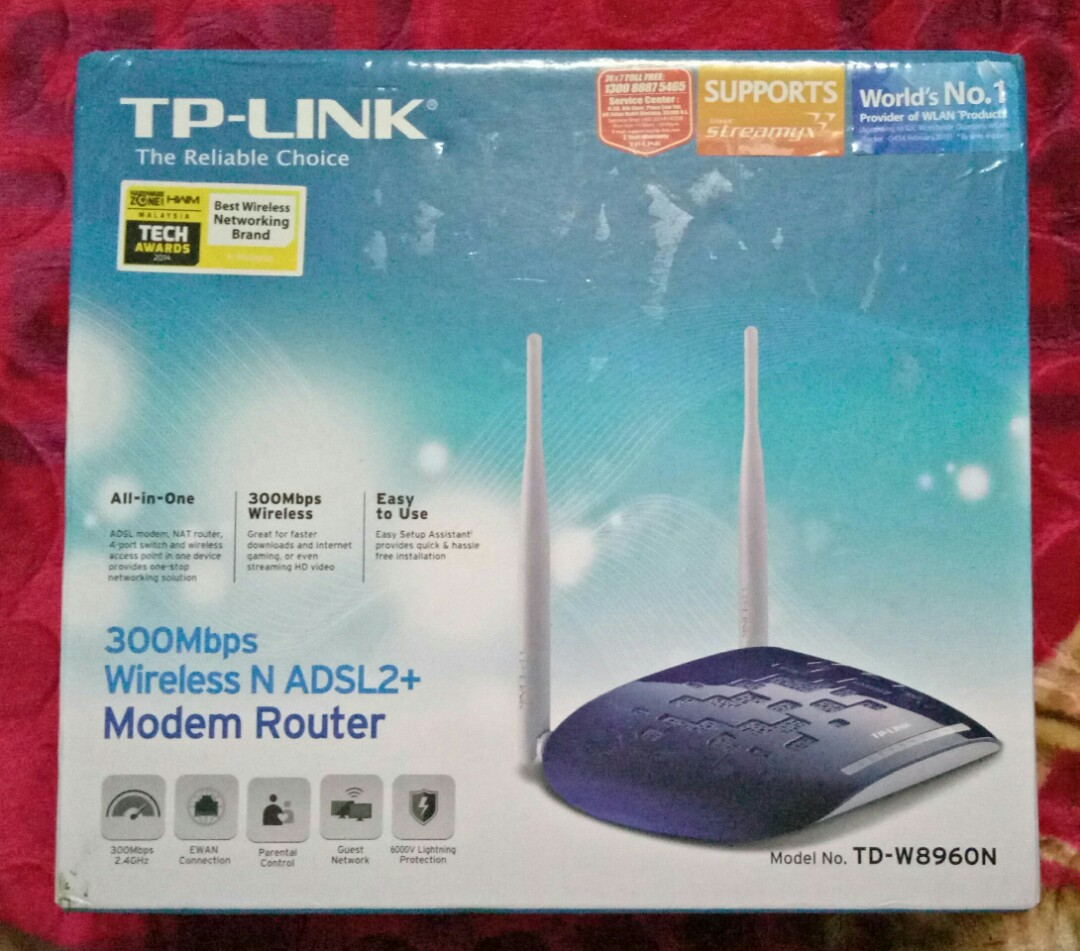 TP Link Wireless Modem Router
