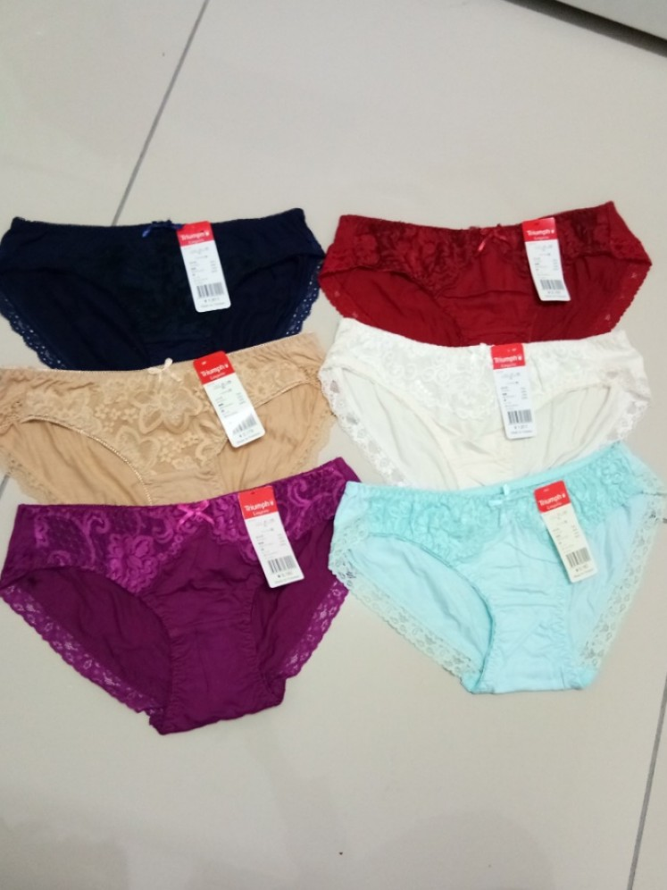 9401769c50c7 Triumph panties L, Women's Fashion, Clothes, Others on Carousell