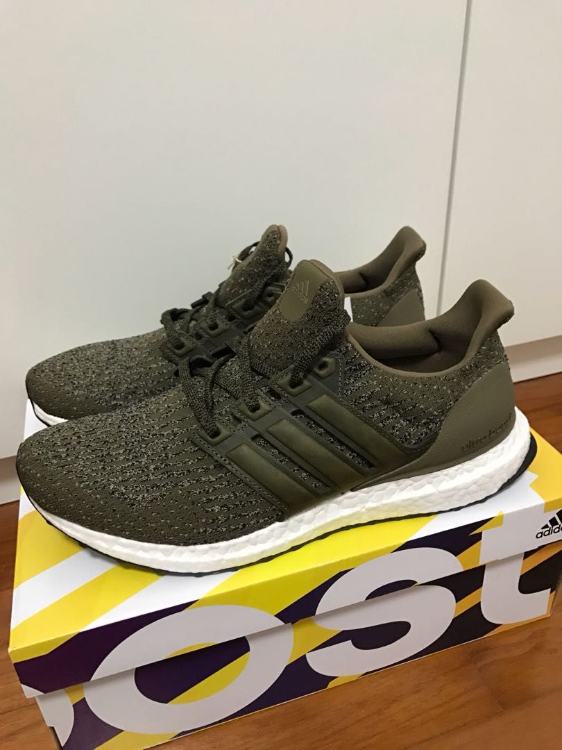 afd35325d238bc Ultra Boost 3.0 Trace Olive US 9.0