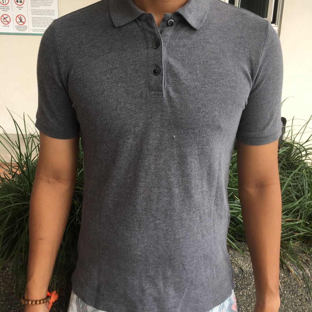 0dc66c52 Uniqlo Polo Shirt, Men's Fashion, Clothes, Tops on Carousell