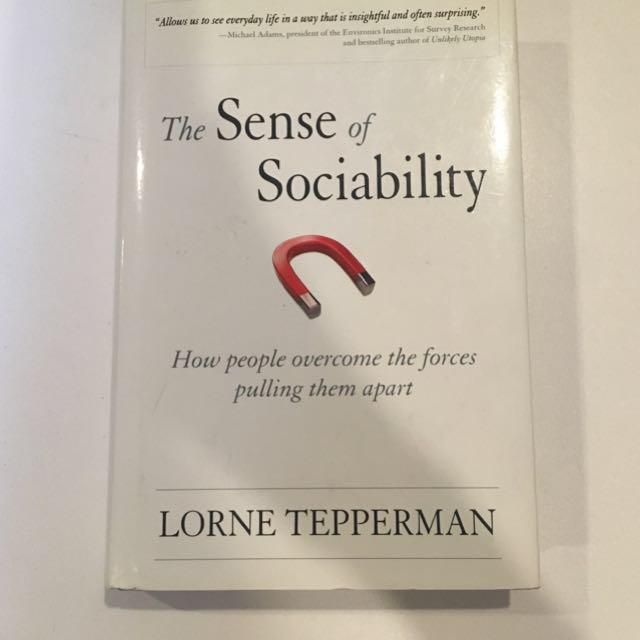 Uoft sociology textbook