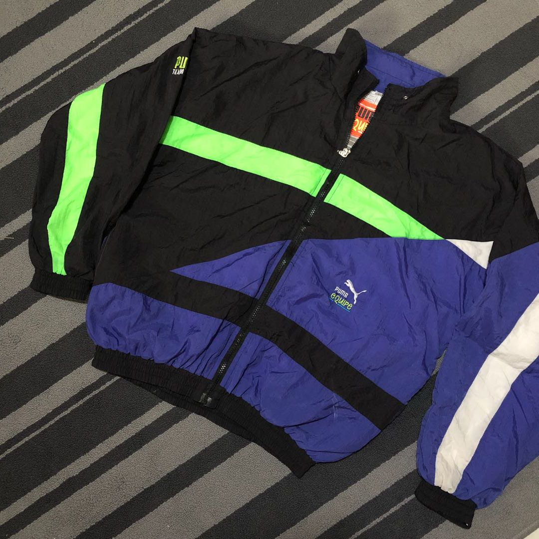 021d1d0339 Vintage Puma Windbreaker Jacket