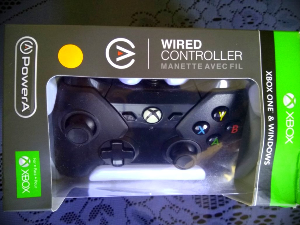 BNIB) Xbox One/PowerA Wired Controller - Black, Toys & Games, Video ...