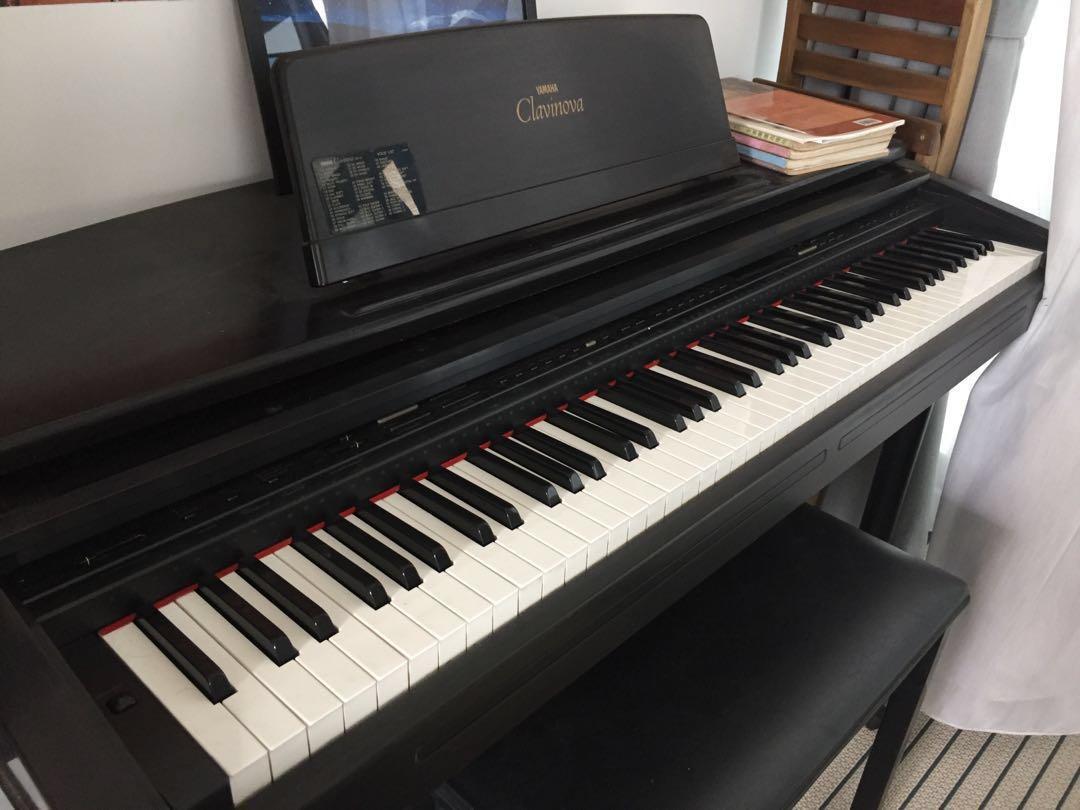 Yamaha CVP-75 Clavinova (digital piano), Music & Media, Music Instruments  on Carousell
