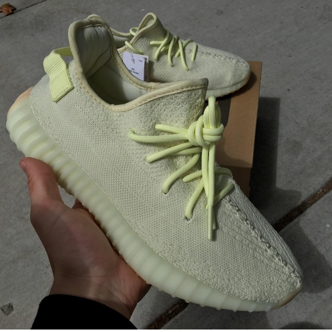 c838e4382 Yeezy 350 V2 Butter US10 500 adidas kanye west blush zebra cream ...
