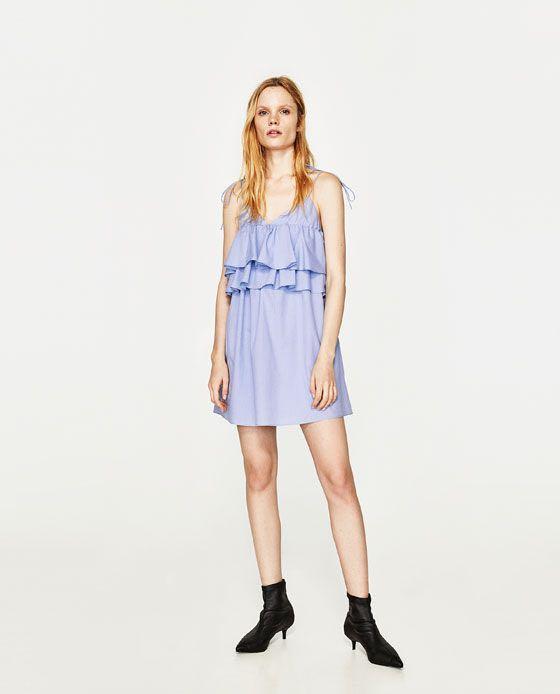 7c334cfe17a Zara Summer dress w  Frills