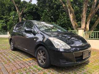 Toyota Wish 1.8A for Grab