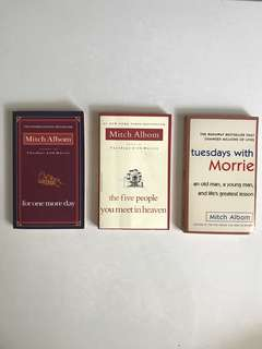 Mitch Albom Books (The Five People You Meet In Heaven)