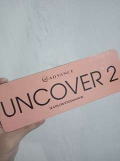 UNCOVER 2 Eye Shadow Palette